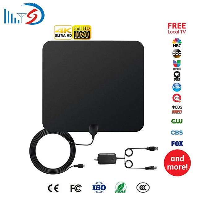 4K Full HD Active Square Thin Film antenna